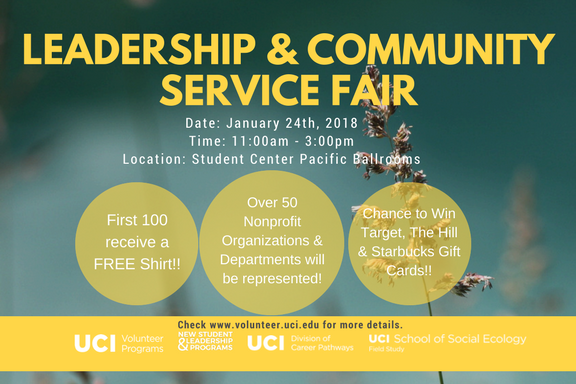 Leadership & Community Service Fair